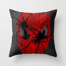 Crawly Eyes Throw Pillow