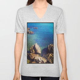 Down By The Water Unisex V-Neck