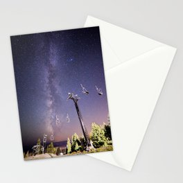 Chairlift  Stationery Cards