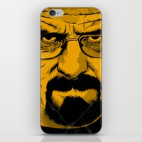 breaking bad iPhone & iPod Skins featuring Breaking Bad by The Art Warriors