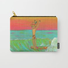 Hang 10 Retro Surf Dude Longboard Surf Carry-All Pouch