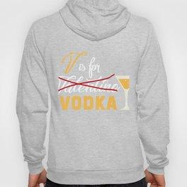 Valentine Costume For Vodka Lover. Hoody