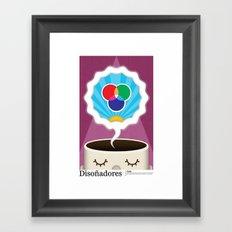 Dreamigners   Color Framed Art Print
