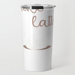 Valentine   I like you a latte Travel Mug
