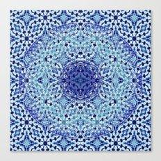 Mandala Azuela Canvas Print