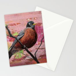 American Robin #2 Stationery Cards