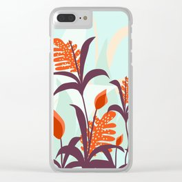 Orange Blooms #society6 #decor #buyart Clear iPhone Case
