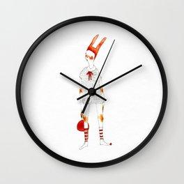 Ping Pong Master Wall Clock