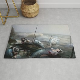 the end of the world Rug