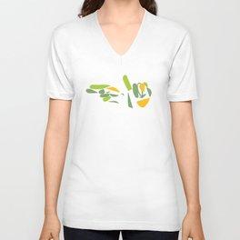 sign language (hi) Unisex V-Neck