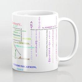 Tolstoy Art Cloud Coffee Mug
