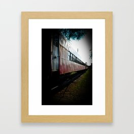 RUN AWAY CHILD. Framed Art Print
