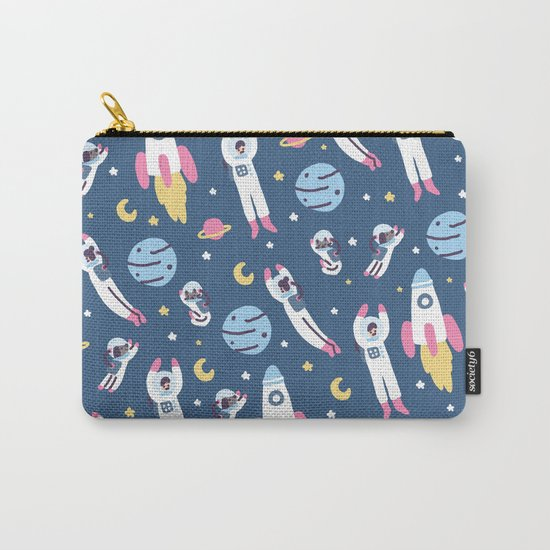 Space People Carry-All Pouch