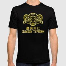 Crimson Typhoon Black Mens Fitted Tee MEDIUM
