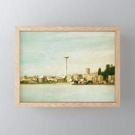 Alki Beach Framed Mini Art Print