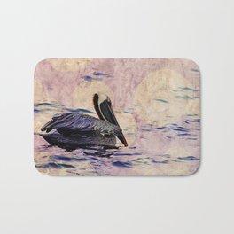 twilight pelican Bath Mat