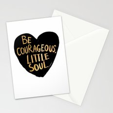 Be Courageous, Little Soul Stationery Cards