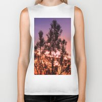 paradise Biker Tanks featuring Paradise by Mary Spinney