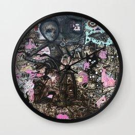 Alien Meditation Wall Clock