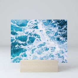 Perfect Ocean Sea Waves Mini Art Print
