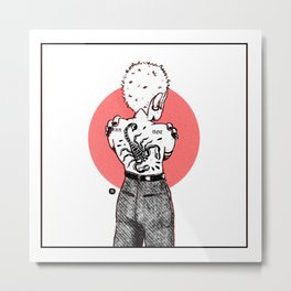 Afraid not Metal Print