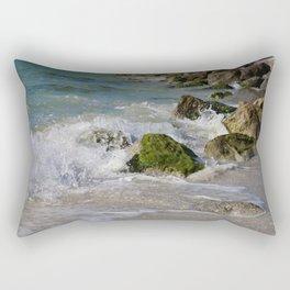Crash and Splash Rectangular Pillow