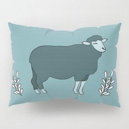 Green Sheep on Fleek Pillow Sham