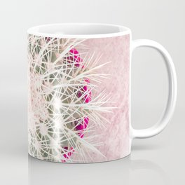 Cactus mandala - blush concrete Coffee Mug