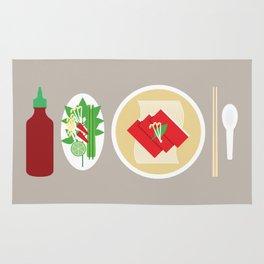 Sriracha Meal Rug