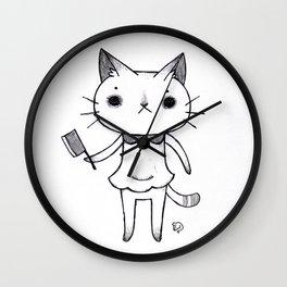 Lil Butcher Wall Clock