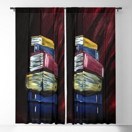 Books Of Knowledge Blackout Curtain