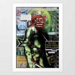 Great Loa of Surveillance Art Print