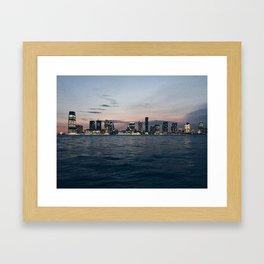 Across the River Framed Art Print