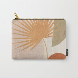 Tropical Leaf- Abstract Art 49a Carry-All Pouch
