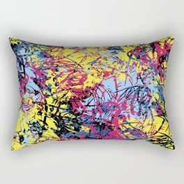 Abstract 6 Rectangular Pillow