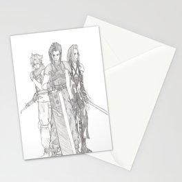 Crisis Core Trio Stationery Cards