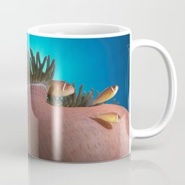 Pink Clownfishes in Anemone Coffee Mug