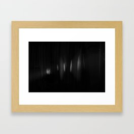Come to the light Framed Art Print