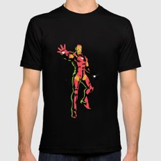 ironman  MEDIUM Black Mens Fitted Tee