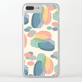 Abstract4 Clear iPhone Case