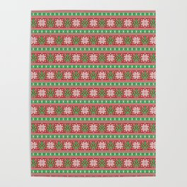 Christmas weed sweater Poster