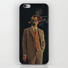 The Energy Vibrations Of Atoms iPhone Skin