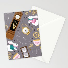 Late For The Party Stationery Cards