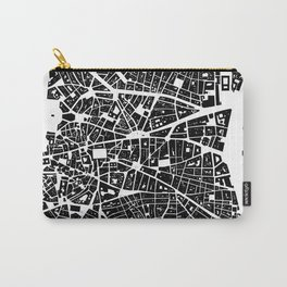 Madrid Graphic Map Carry-All Pouch