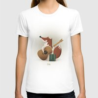 coyote T-shirts featuring Coyote by Manu Galindo