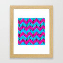 Dat Boi Pattern Framed Art Print