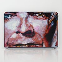 bowie iPad Cases featuring Bowie by Ray Stephenson