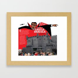 Castle Dracula Amusement Ride in Wildwood, NJ - Copyright Aladdin Color Inc. Framed Art Print