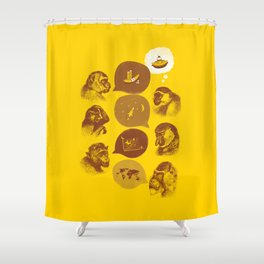 Bananaz Shower Curtain