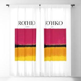 Rothko - Untitled Blackout Curtain